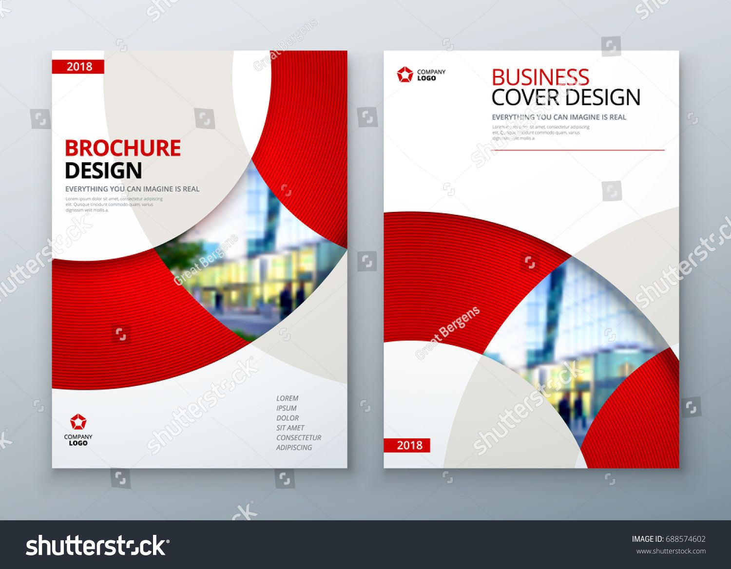 Brochure Template Layout Design Corporate Business Annual Report