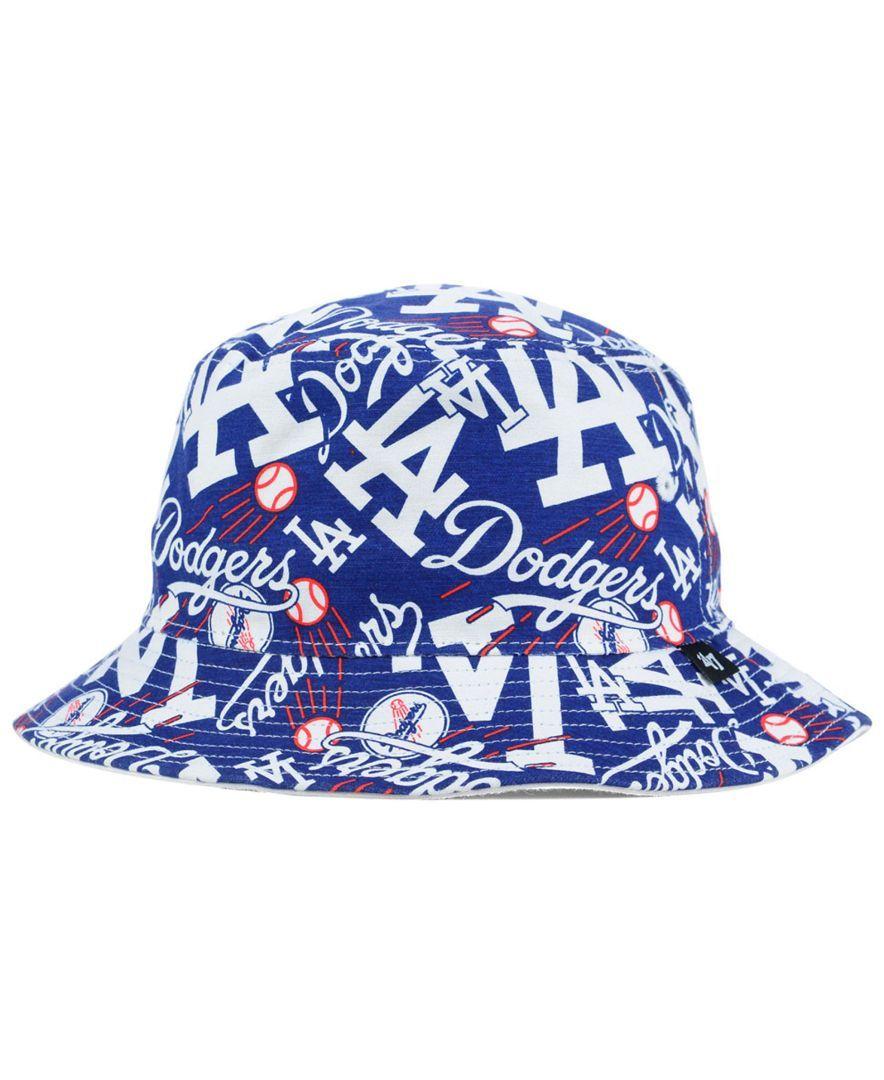 ... free shipping 47 brand los angeles dodgers bravado bucket hat 541d6  9b1ab 5bd9fb27754