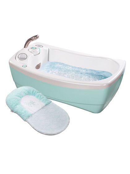 Fanciest Baby Bath Tub Ever: Summer Infant Lilu0027 Luxuries® Whirlpool  Bubbling Spa U0026 Shower