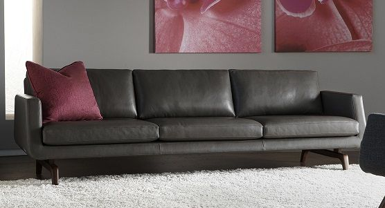 Ambiente Furniture   American Leather Nash Sofa