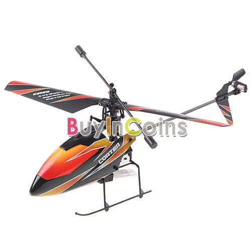 4CH 2.4GHz Mini Radio Single Propeller RC Helicopter Gyro V911 RTF Outdoor # 02