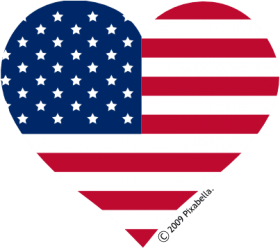 American Flag Clip Art Black And White Usa Flag Heart Clipart Png Image With Transparent Background Png Free Png Images American Flag Clip Art American Flag Banner Clip Art