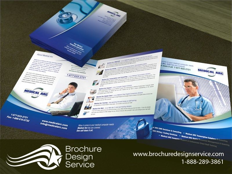 Pin by Brochure Design Service on Bi-fold brochure designs