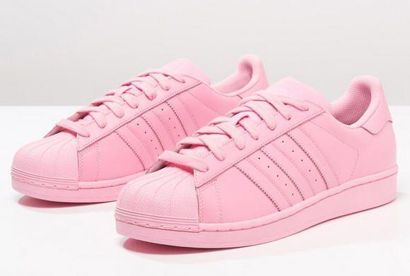 adidas superstars light pink