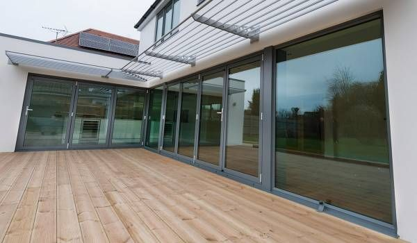 Grey Aluminium Windows | Replacement Windows from Conservatory ...