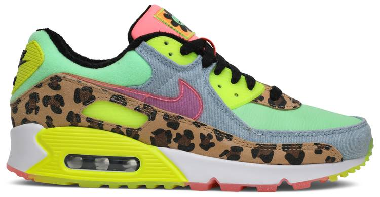 Wmns Air Max 90 Lx Illusion Green Nike Cw3499 300 Goat In 2020 Nike Air Max 90 Nike Air Max 90 Women Nike Air Max 90s