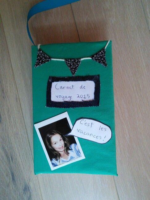 Carnet de voyage fait à la main par une fille de 10 ans. Wow!