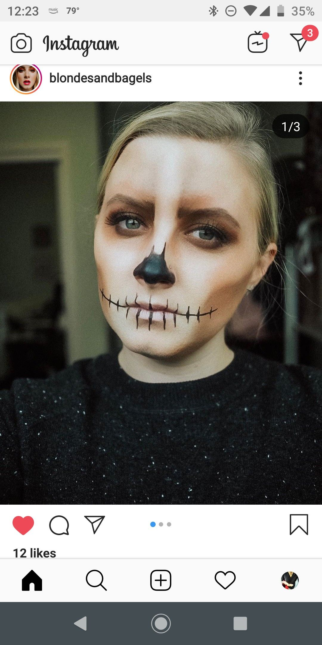 Pin by Fashion in the Lou on Just because Halloween face