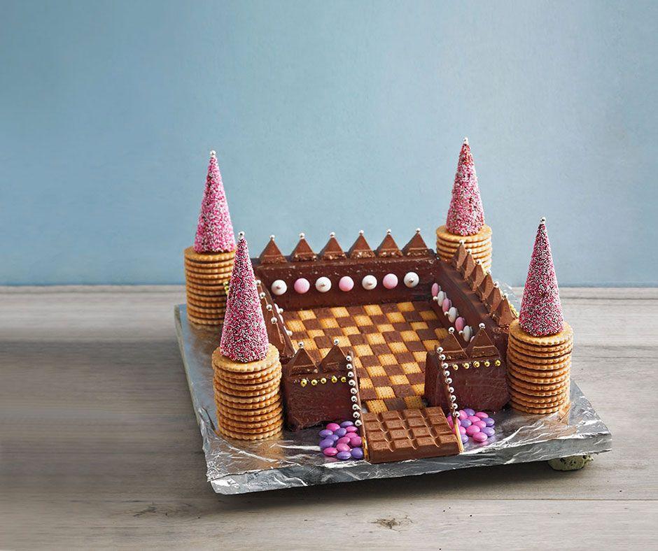 Ritterburg | funny food ... | Kuchen, Kinder kuchen und ...