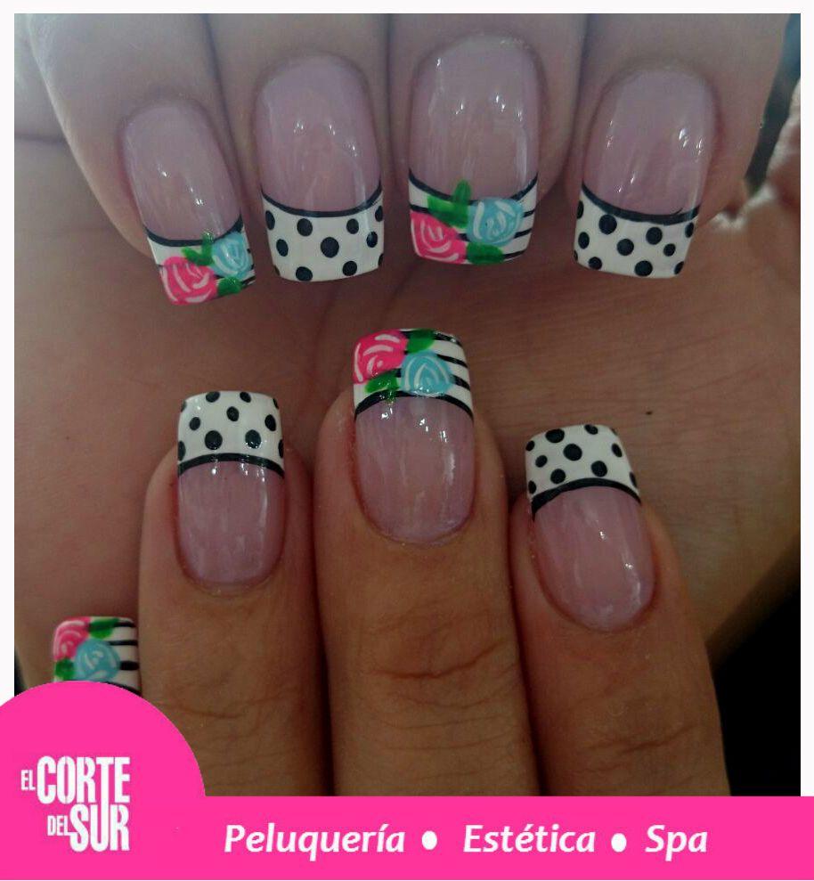 Una mujer bien presentada siempre tiene sus uñas increíbles. Trabajo por Paola Andrea Florez Ortiz de nuestra sede Autopista Sur. Solicita tu cita 5522309 ¡El Corte del Sur Peluquería Tiene Tiempo Para Ti!