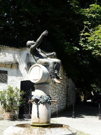 Estatua de Baco en Tokaj - Hungria