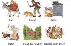 Die Bremer Stadtmusikanten Kindergarten Childrens German