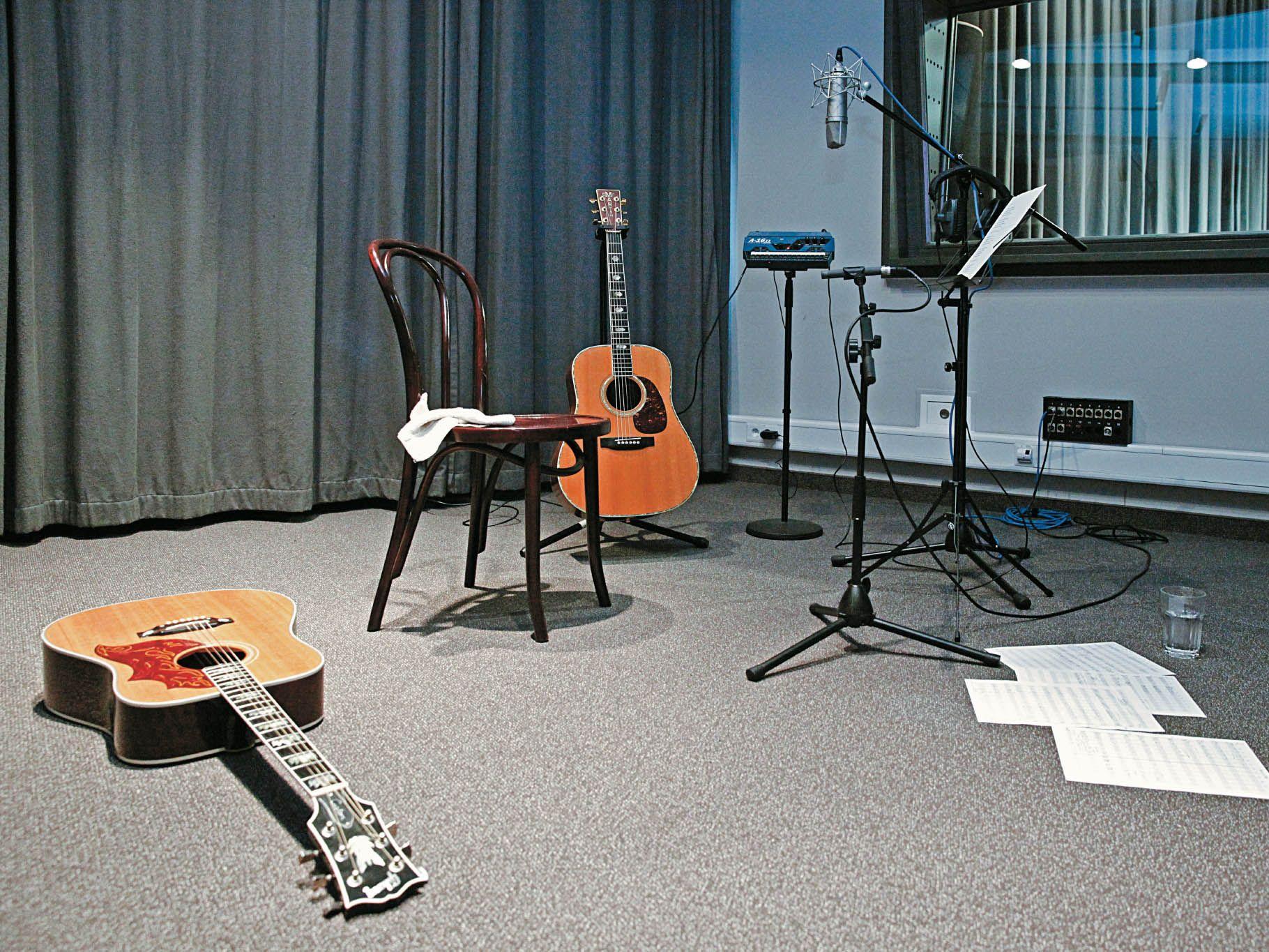 Blackbird Music Studios AGitarren