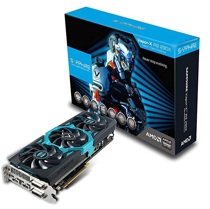 Sapphire Radeon Vapor X R9 290x 8gb Gddr5 Dual Dvi D Hdmi Dp Tri X Pci Express Graphics Card 11226 11 40g Review Graphic Card Cards Dvi
