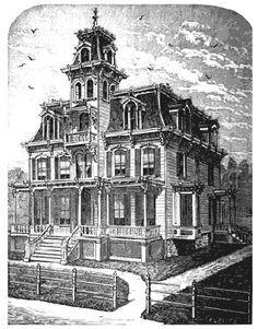 Victorian House Plan Victorian House Plans Victorian Homes Empire House