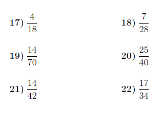 simplest form answers  Simplifying fractions worksheet (with answers): A worksheet ...