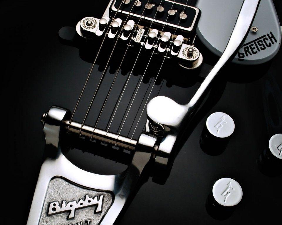 Musique Fond D Ecran 41316 Cordes Guitare Gretsch Musique