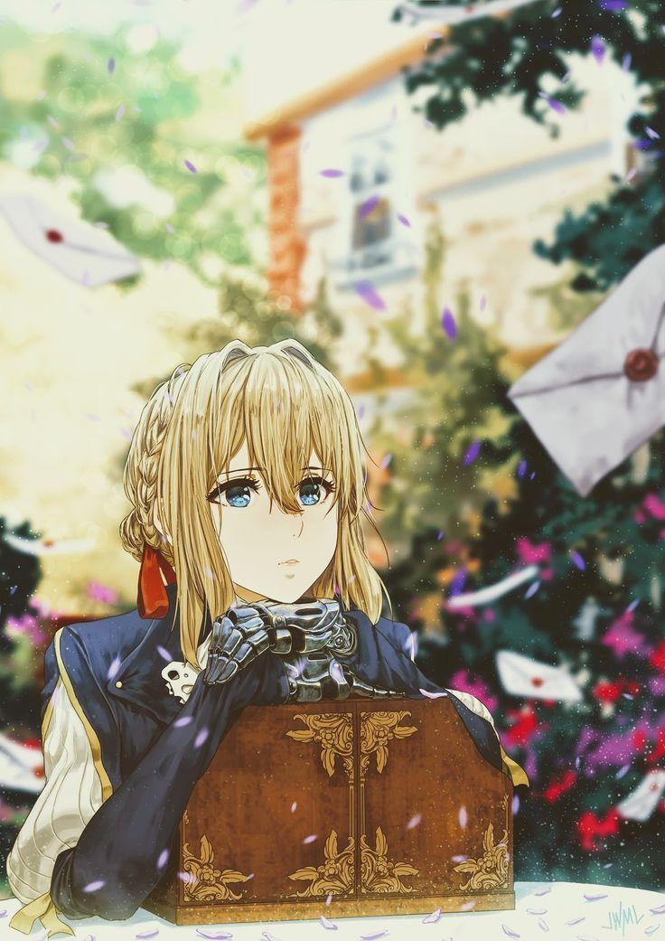 Violet Evergarden Hình ảnh, Anime, Dễ thương