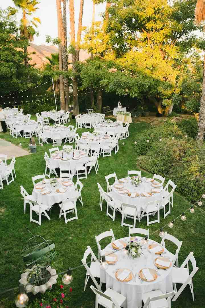 New Orleans Inspired California Wedding Outdoor Wedding