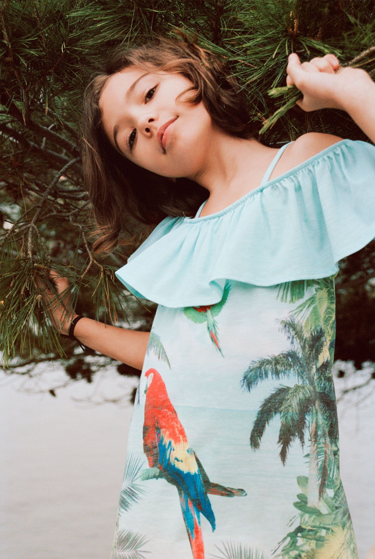 Zara kids summer dresses