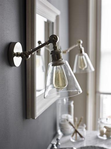 small lighting. neptune keats single arm wall light small lighting o