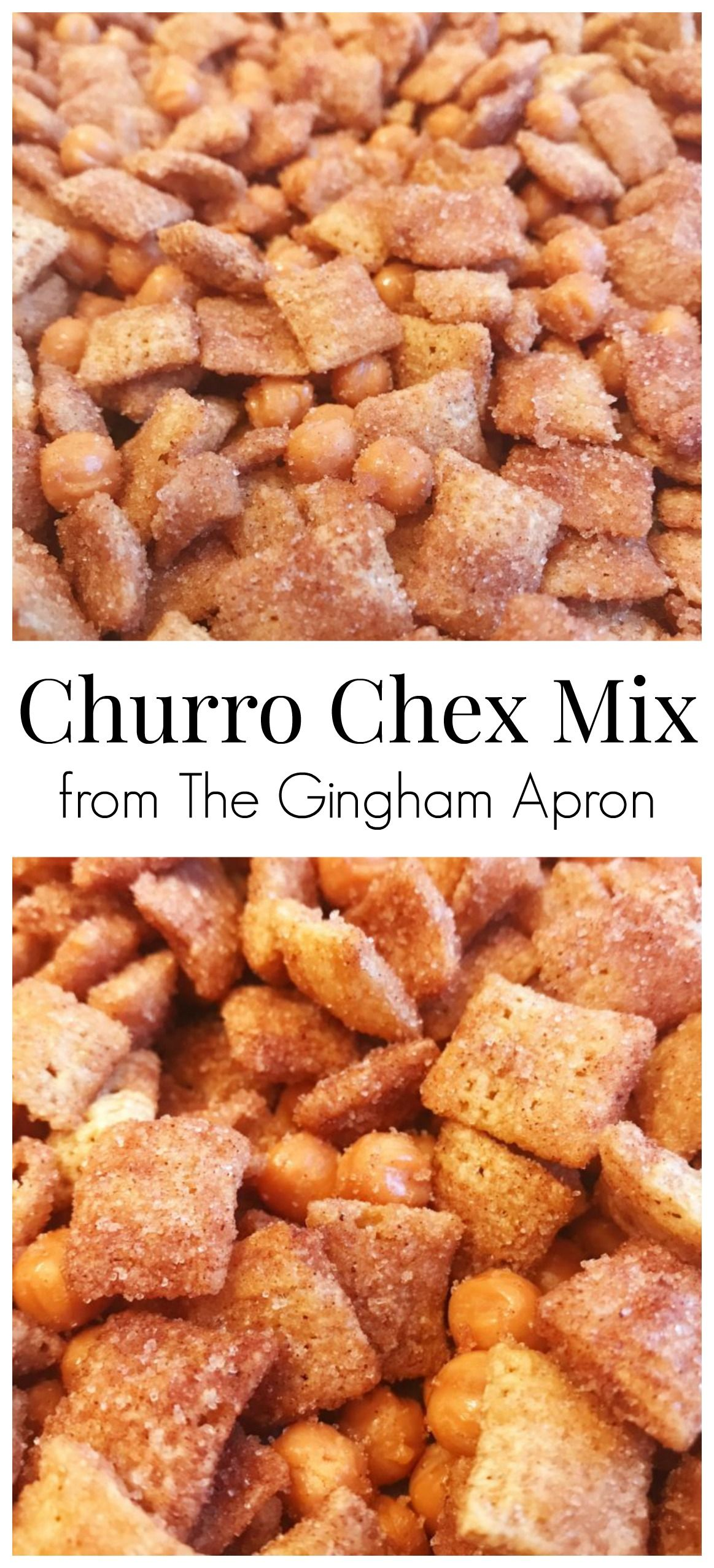 Photo of Churro Chex Mix With Caramels   The Gingham Apron