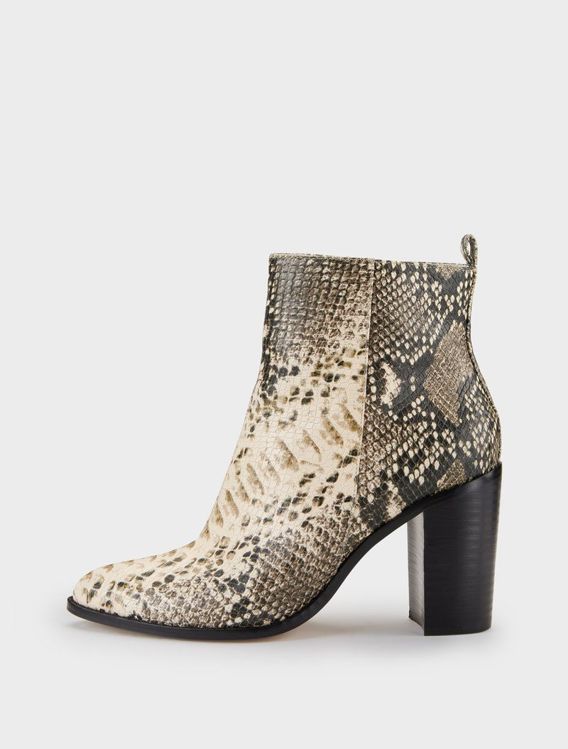 3a882026641 DKNY Houston Snake Print Ankle Boot.  dkny  shoes