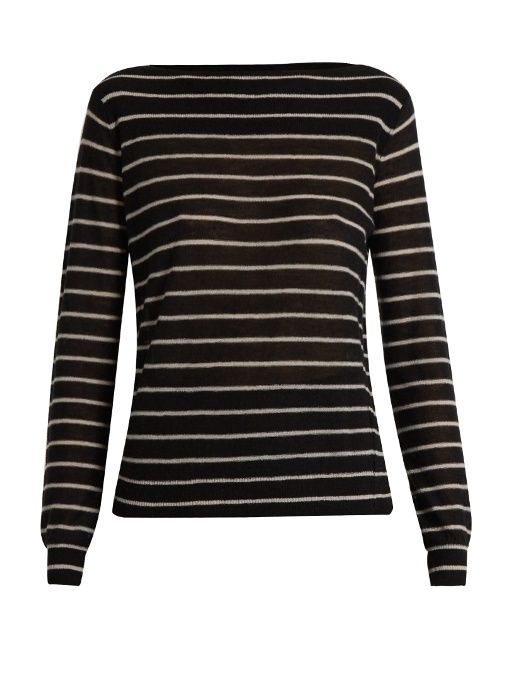 969a917e13 VINCE Striped cashmere sweater.  vince  cloth  sweater