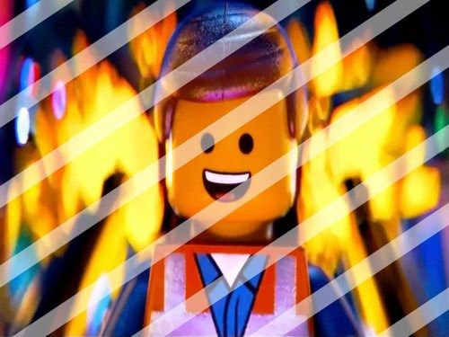 The Lego Movie Edible Cake Topper Frosting 1/4 Sheet Image #46