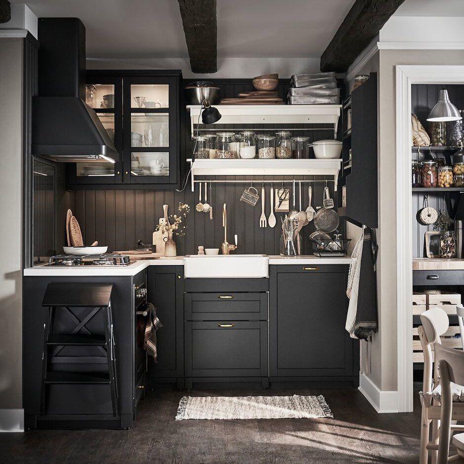Ikea France On Instagram Avec Son Style Chaleureux Et Traditionnel Misez Sur L Intemporelle Cu Interieur De Cuisine Interieur Moderne De Cuisine Cuisine Ikea
