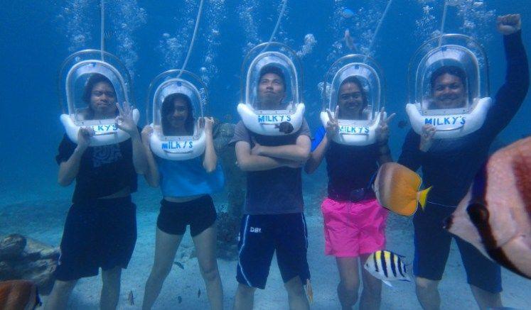 Boracay Activities Helmet Diving