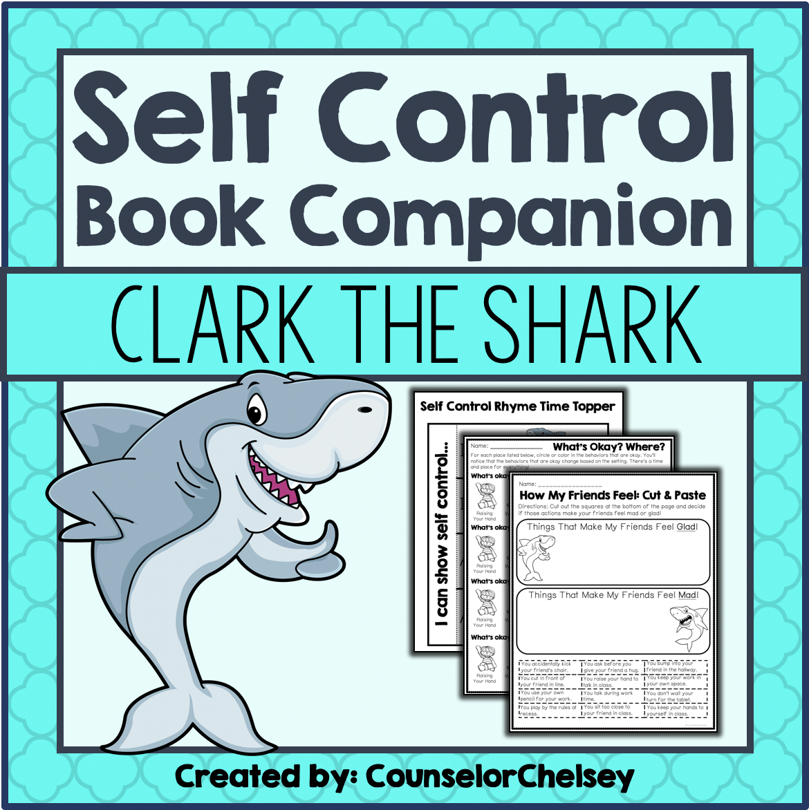 Self Control Book Companion Activities Lacey Walker