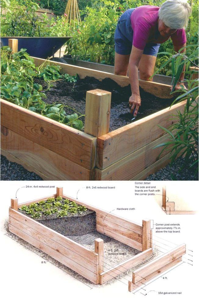 Photo of 20 idées de jardins surélevés géniaux pour vos plantes