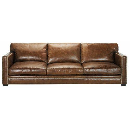 Ledersofa 4 5 Sitzer Braun Sofa Sessel Pinterest Leather
