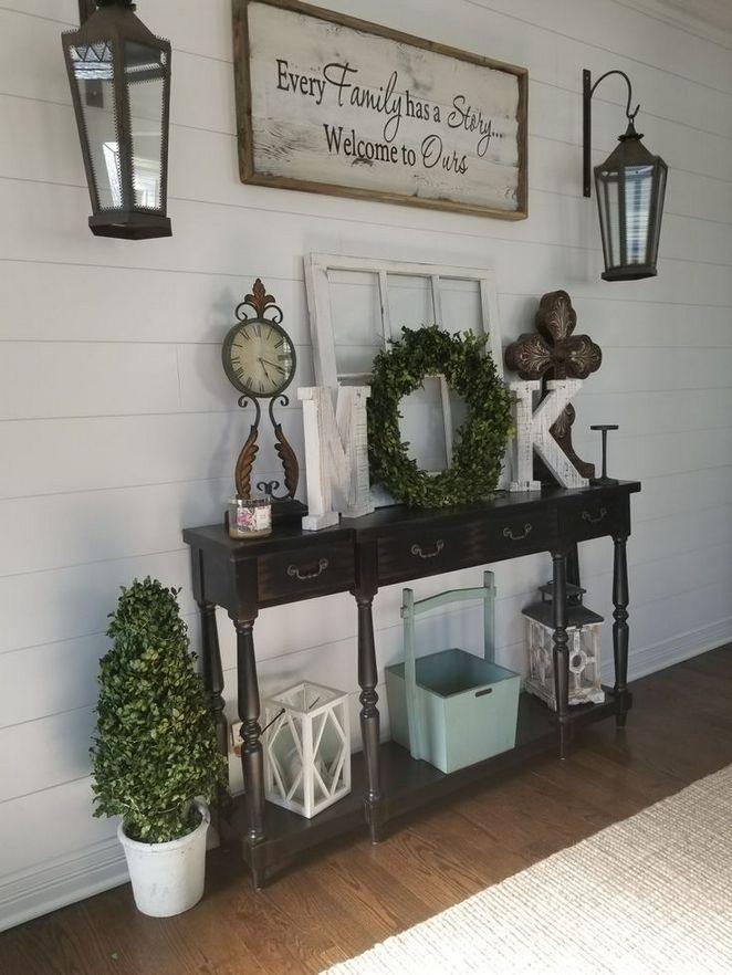 34 The Mystery Of Entry Table Decor Farmhouse Entryway No