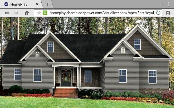 Harvard Slate Black Walnut Cedar Shake Vinyl Siding House Siding Colors For Houses House Exterior