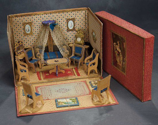 DOLLS HOUSE BOX Of LUX