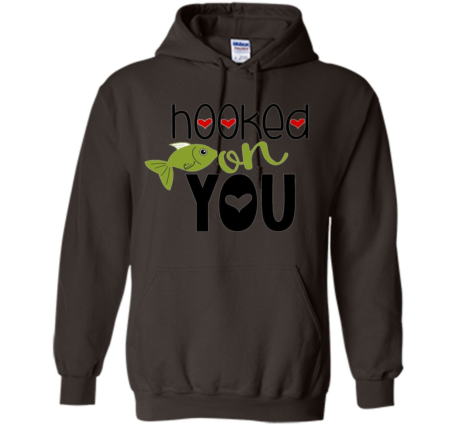 funny valentines day shirt hooked on you fishing kids school
