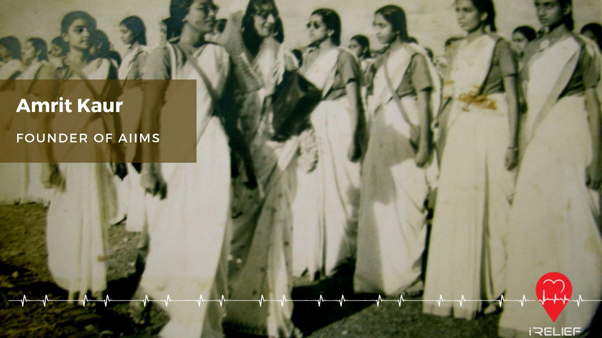 Amrit kaur, the Princess of Kapurthala, first Health