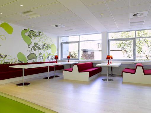Modern Lego Office Lounge Interior Design