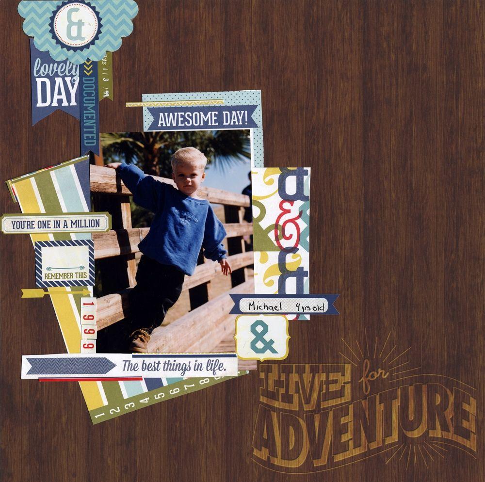 Scrapbook ideas adventure - Live For Adventure Scrapbook Com