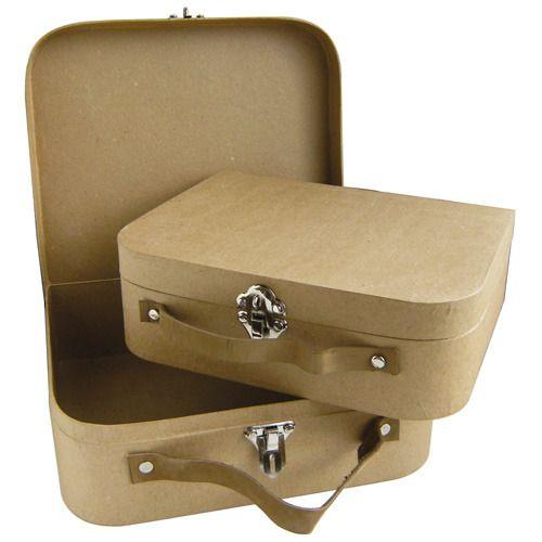 Valise carton lot de 2 valises d corer gigogne indiana jones indiana a - Valise carton vintage ...