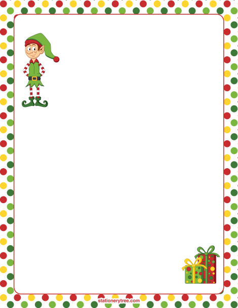 graphic regarding Christmas Letter Paper Free Printable known as Pin as a result of Muse Printables upon Stationery at