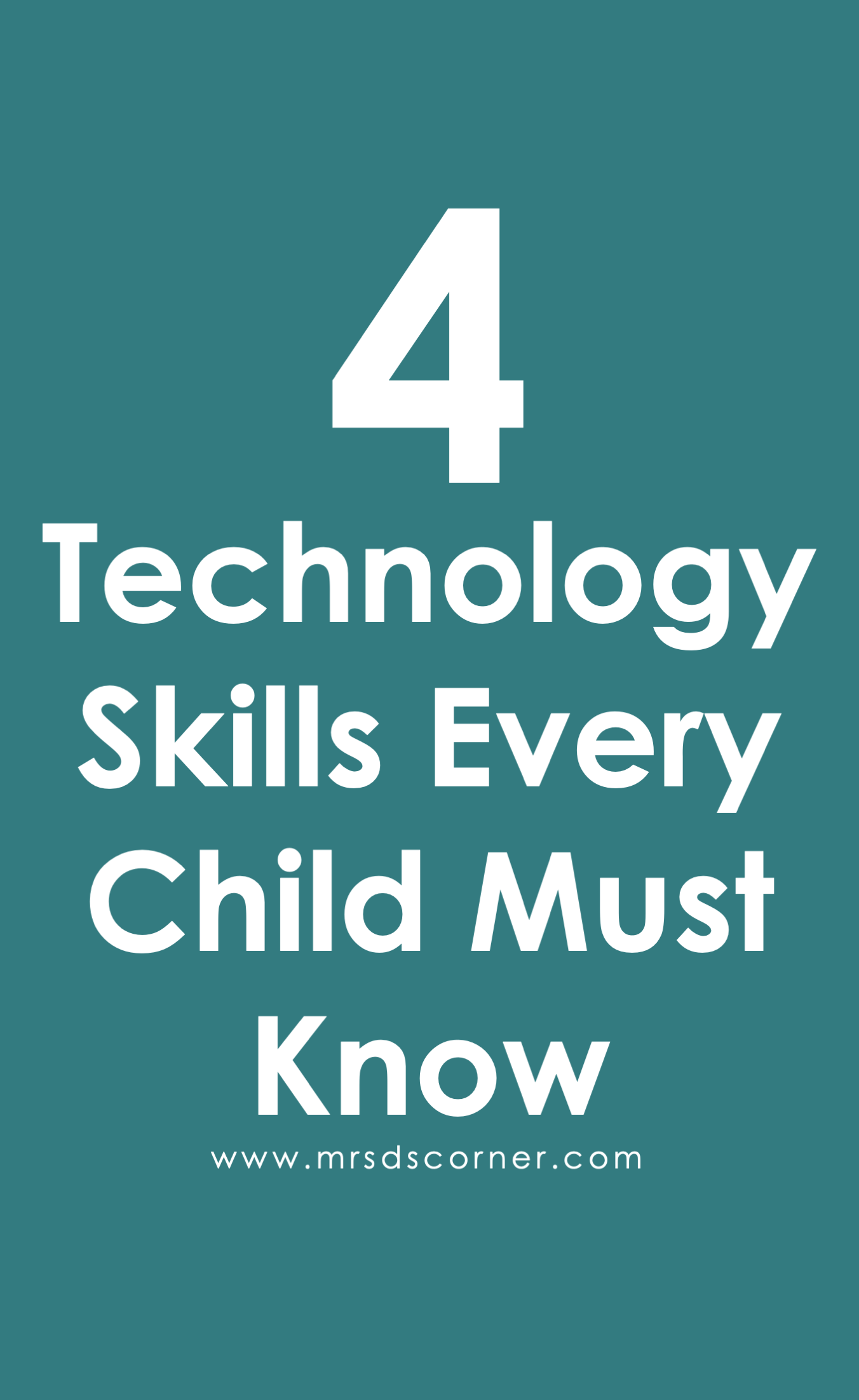 Computer Skills For Kids