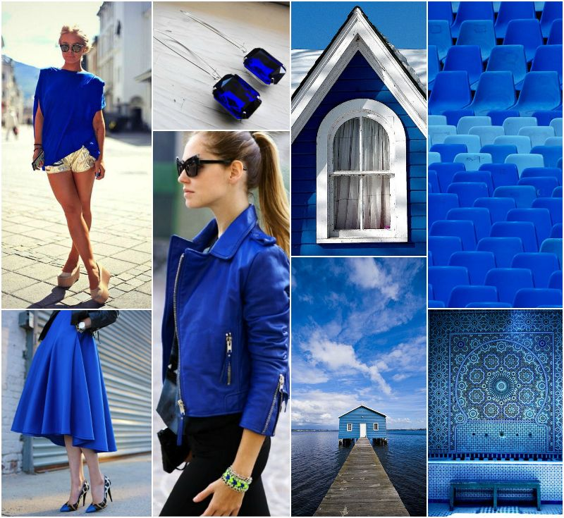 """Polish blogger Maria analyses shades of blue right for each season type:  cobalt.  """"For Deep Winter, True Winter, Clear Winter, Clear Spring, True Autumn. Perhaps for True Spring. """""""