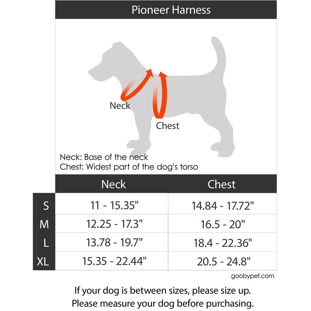 Gooby Pioneer Dog Harness with Control Handle and Seat Belt Restrain
