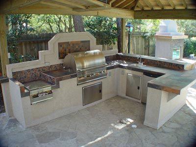 Hofer Sommerküche : Simple outdor kitchen ideas patio pinterest
