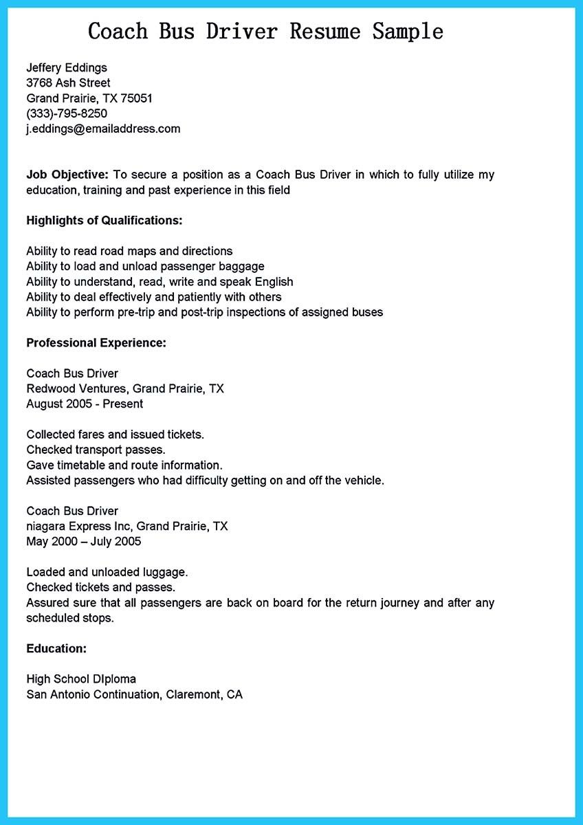 a bus driver must drive a huge vehicle that will bring lots of life and this is serious shuttle bus driver resume - Sample Resume For Shuttle Bus Driver