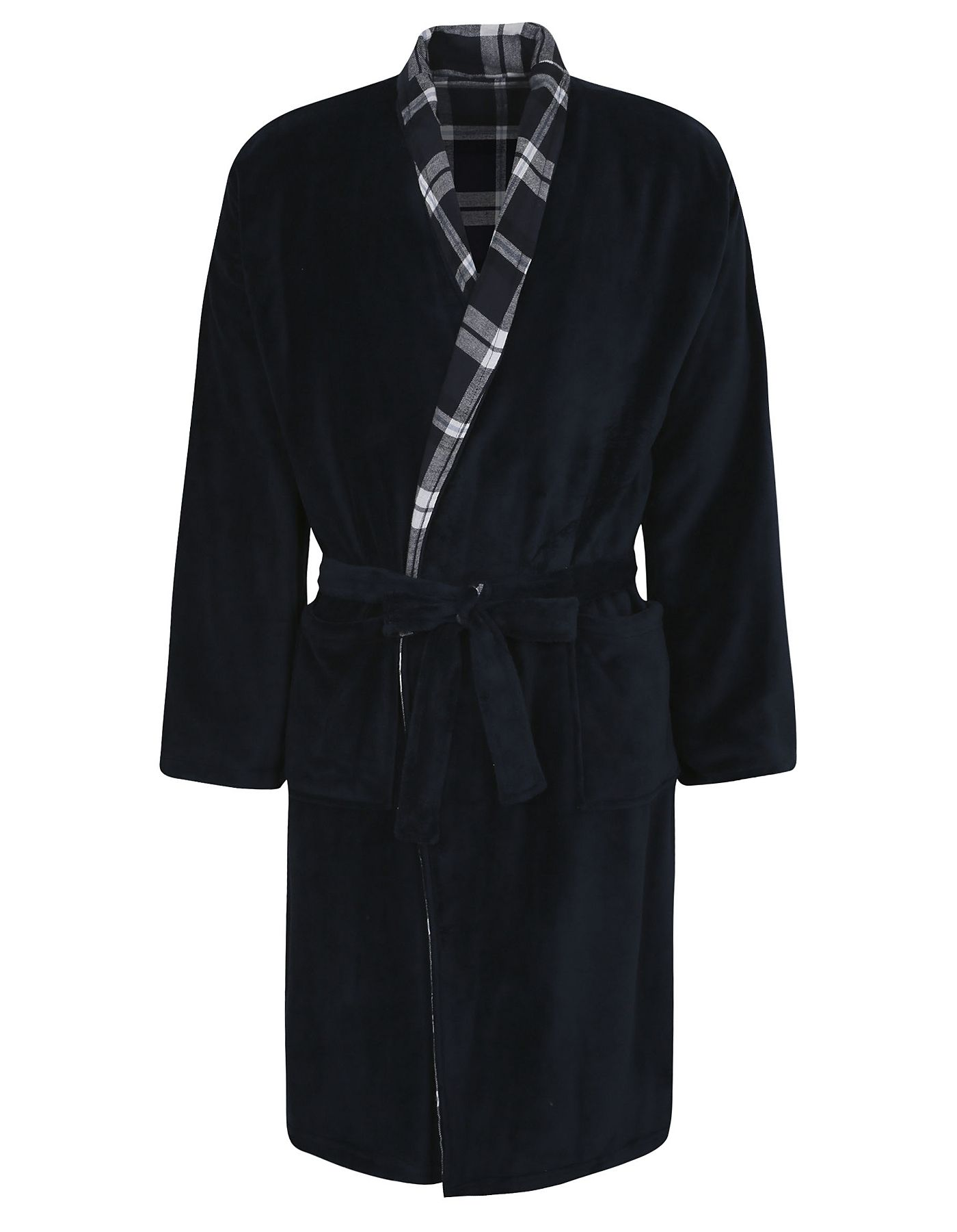 Plaid Reversible Dressing Gown | Men | George at ASDA | AW16 TRENDS ...