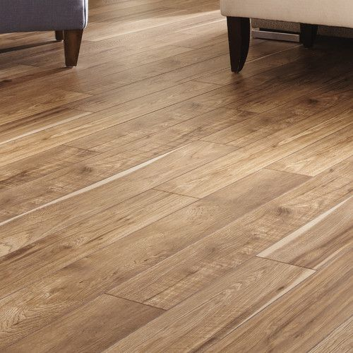 Restoration Collection 6 X 51 X 12mm Hickory Laminate Flooring In Natural Pisos De Parquet Piso De Madera Pisos De Madera